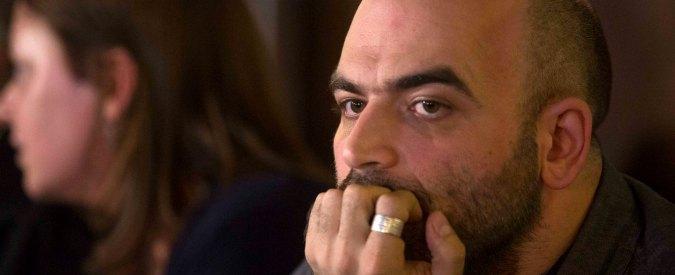 """Saviano, dopo la polemica sulle copie da acquistare annulla incontro con studenti di Forlì: """"Vi strumentalizzerebbero"""""""