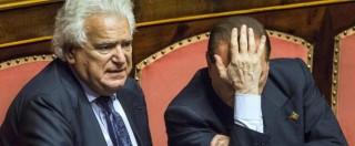 """Denis Verdini lascia Forza Italia: """"Con Berlusconi posizioni distanti, vado via"""""""
