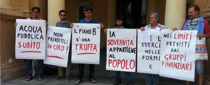"""Acqua pubblica, a Reggio Emilia il Pd dice no a stop multiutility: """"Troppi costi"""""""