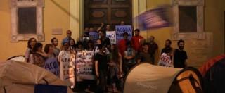 Acqua pubblica Reggio Emilia, presidio comitati dopo no del Pd: 'Noi sgomberati'