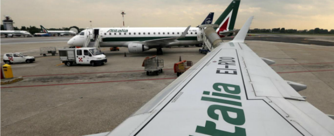 """Alitalia fallita, tribunale civile di Lecce: """"Tesoro deve risarcire piccoli azionisti"""""""