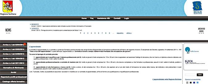 Sicilia, Regione non trova un dipendente (su 16mila) per gestire sito apprendistato