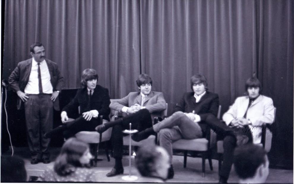 I Beatles e Leo Wachter