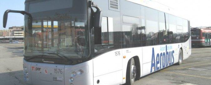 Bus per aeroporto Bologna, autista guidava con patente falsa: denunciato