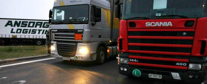 Autorità trasporti, lobby dei camionisti chiede esenzione da pagamento quota