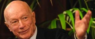 """Esselunga, Bernardo Caprotti ritira querela a figlio: """"Non voglio condanna"""""""