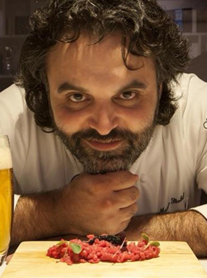 """""""Amaro, ecco il gusto del 2015"""": lo chef stellato Marco Stabile insegna a cucinare con la birra"""