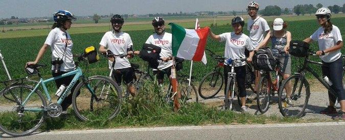 """""""Oltre duemila posti di lavoro per la ciclabile da Venezia a Torino lungo il Po"""""""