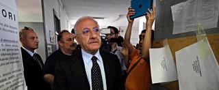 Legge Severino, prefetto di Napoli notifica decreto di sospensione a De Luca