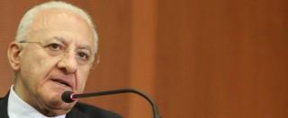 """Vincenzo De Luca, il Tribunale di Napoli accoglie il ricorso. Il governatore: """"Ripristinata volontà popolare"""""""