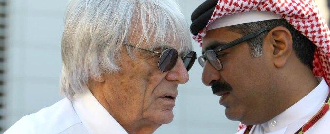 Formula 1 news, le mani dello sceicco del Qatar sul circus di Ecclestone