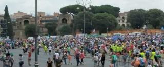 """Family Day 2015, cattolici in piazza contro le unioni gay: """"Siamo un milione"""". Viminale: """"400mila presenze"""". Scalfarotto: """"Evento inaccettabile"""""""