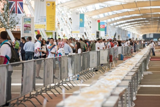 Expo Milano, tentativo Guinness World record pizza più lunga del mondo