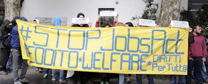 Jobs act, 'su politiche attive poca sostanza. Cancellato contratto ricollocazione'