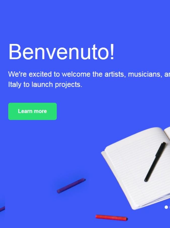 Kickstarter,  in Italia la piattaforma mondiale di crowdfunding