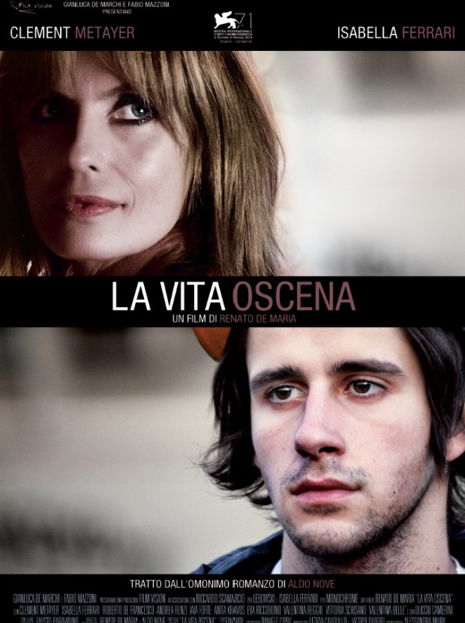"""La Vita Oscena, la biografia di Nove è un film. Isabella Ferrari: """"Credo in questo progetto. In Italia si rischia poco sul cinema d'autore"""""""