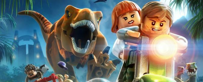 Jurassic World, dinosauri e videogiochi: il sogno si realizza con Lego