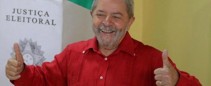 """Brasile, l'annuncio dell'ex presidente Lula """"Pronto a ricandidarmi nel 2018"""""""
