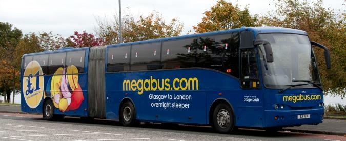 """Megabus il """"pullman low cost"""" arriva in Italia: Milano-Roma a 1 euro"""
