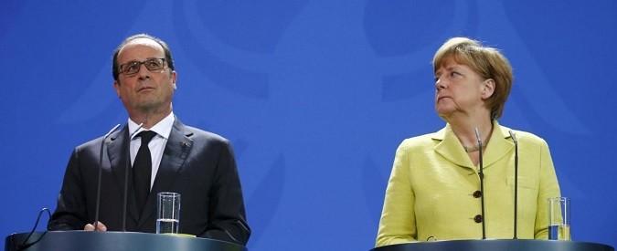 Grecia, Uk e migranti: decide il direttorio Merkel-Hollande. Renzi, invece, non tocca palla