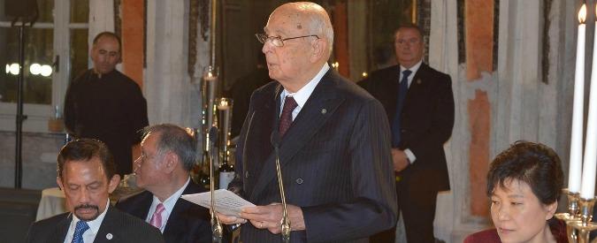 Brindisi per i 90 anni di Giorgio Napolitano: tutti da Grasso martedì sera