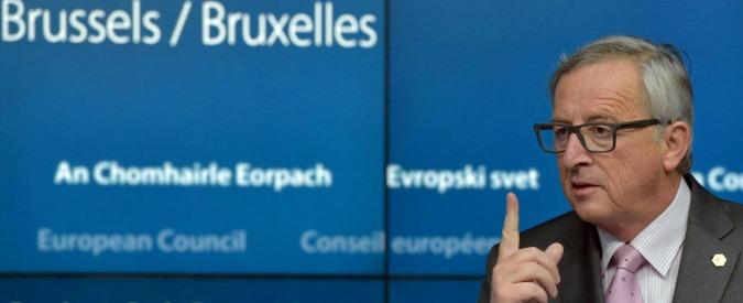 """Grecia, Juncker: """"Basta populismo, nostro piano non è di stupida austerità"""""""