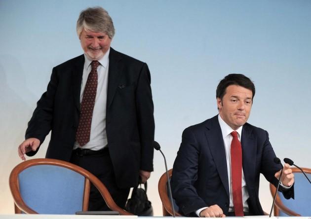 Palazzo Chigi. Conferenza stampa al termine del Consiglio dei Ministri