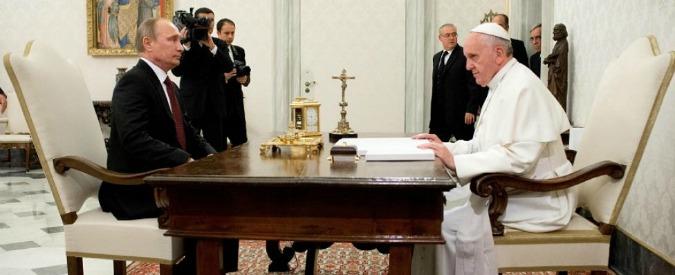 Papa Francesco, il 10 giugno riceverà Putin. E' la seconda volta in due anni