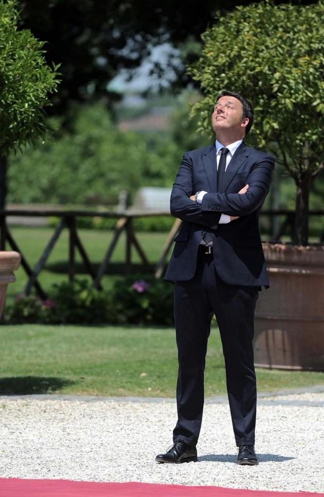 Matteo Renzi incontra il Primo Ministro del Canada Stephen Harper