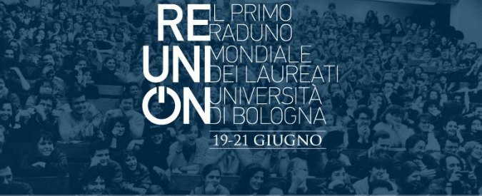 ReUnion, il primo raduno mondiale laureati all'università Bologna con Don Ciotti, Guccini, Eco e Prodi