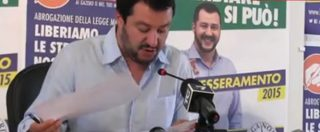 """Comunali 2015, Salvini: """"Io unica alternativa a Renzi. Parlo a tutti"""""""