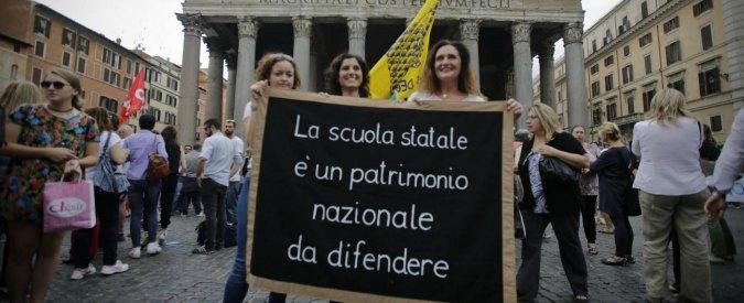 """Ddl Scuola, i sindacati: """"Tre giorni di protesta"""". Attesa per maxiemendamento"""