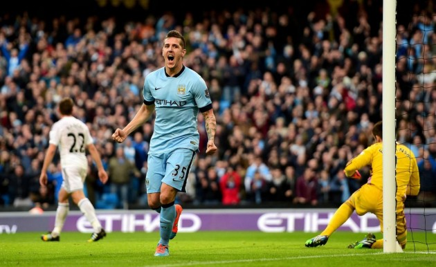 Steva Jovetic, attaccante del Manchester City