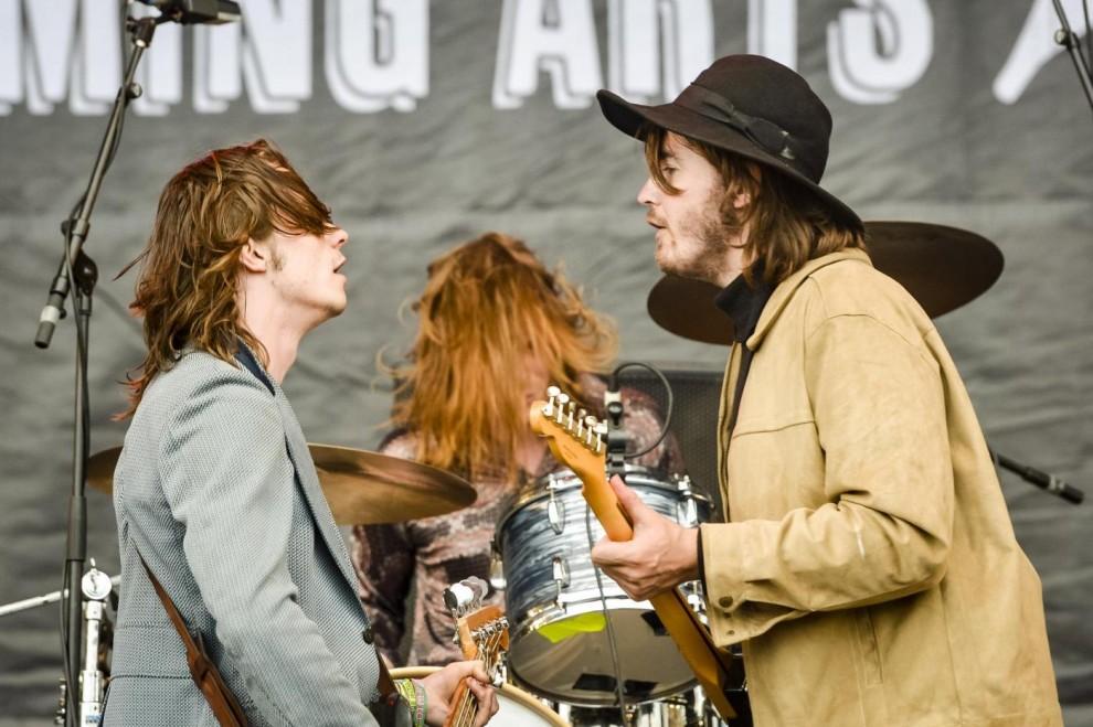 Sul palco del Glastonbury Festival
