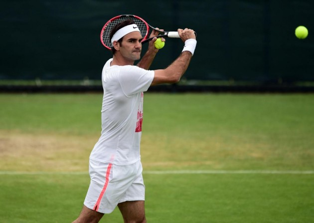 Tennis - 2015 Wimbledon Championships - Preview Day Two - The All England Lawn Tennis and Croquet Club
