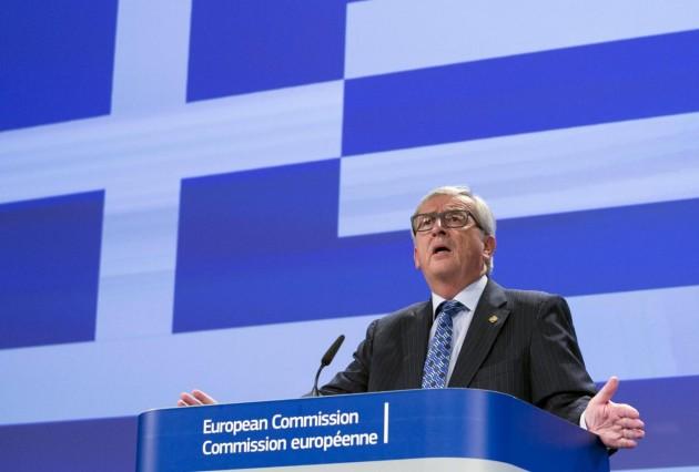 Grecia, discorso di Juncker a Bruxelles su crisi