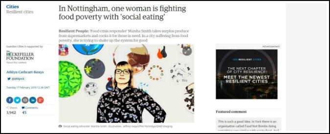 """Maturità 2015, al Linguistico un articolo del Guardian: """"Social eating, traccia di grande attualità"""""""