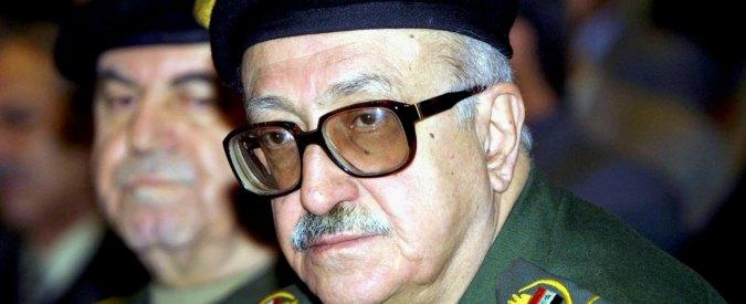 Tareq Aziz, morto l'ex ministro degli Esteri durante il regime di Saddam