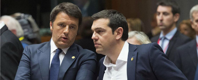 Grexit: l'ottusità nordica, l'opportunismo di Renzi e Hollande