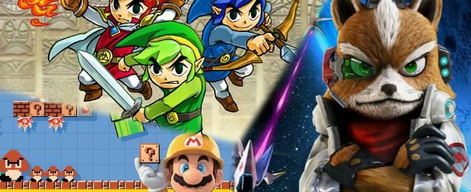 """Nintendo, Wii U marginale. Molti titoli per il """"3DS"""". E un nuovo Mario Tennis"""