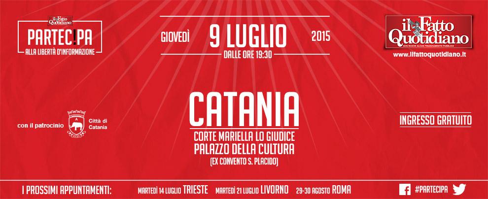Il Fatto Quotidiano incontra i lettori a Catania