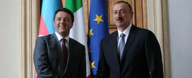Diritti umani, presidente dell'Azerbaigian in Italia: Amnesty si appella a Renzi
