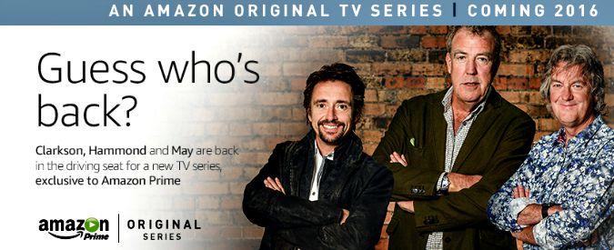 Top Gear, Jeremy Clarkson e soci hanno firmato: nuovo programma con Amazon