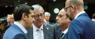 """Grecia, raggiunto l'accordo. Juncker: """"Non ci sono né vincitori né vinti"""""""