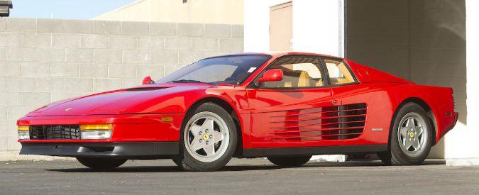 Ferrari, e se comprare una Testarossa fosse meglio che investire in azioni?