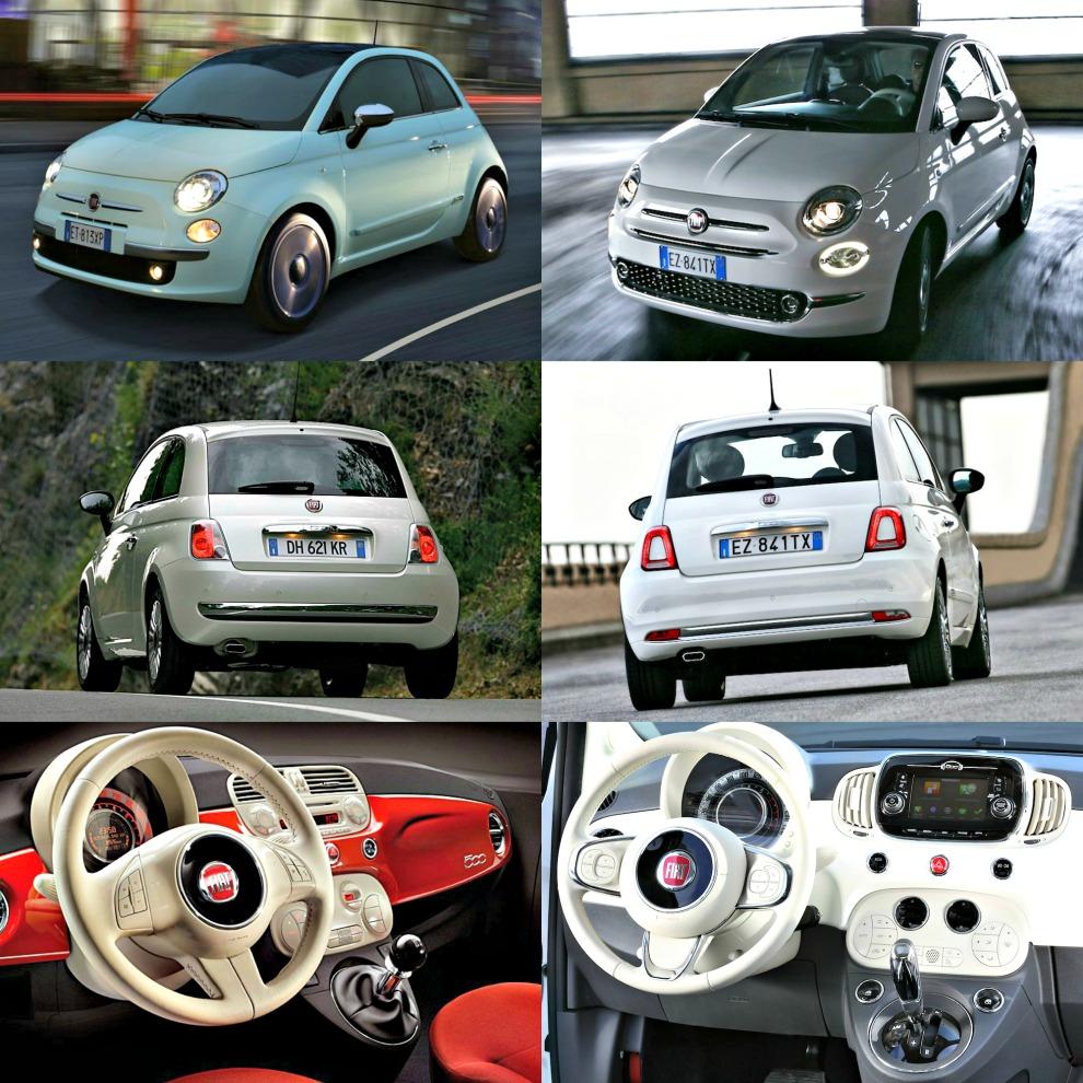 Fiat 500 confronto
