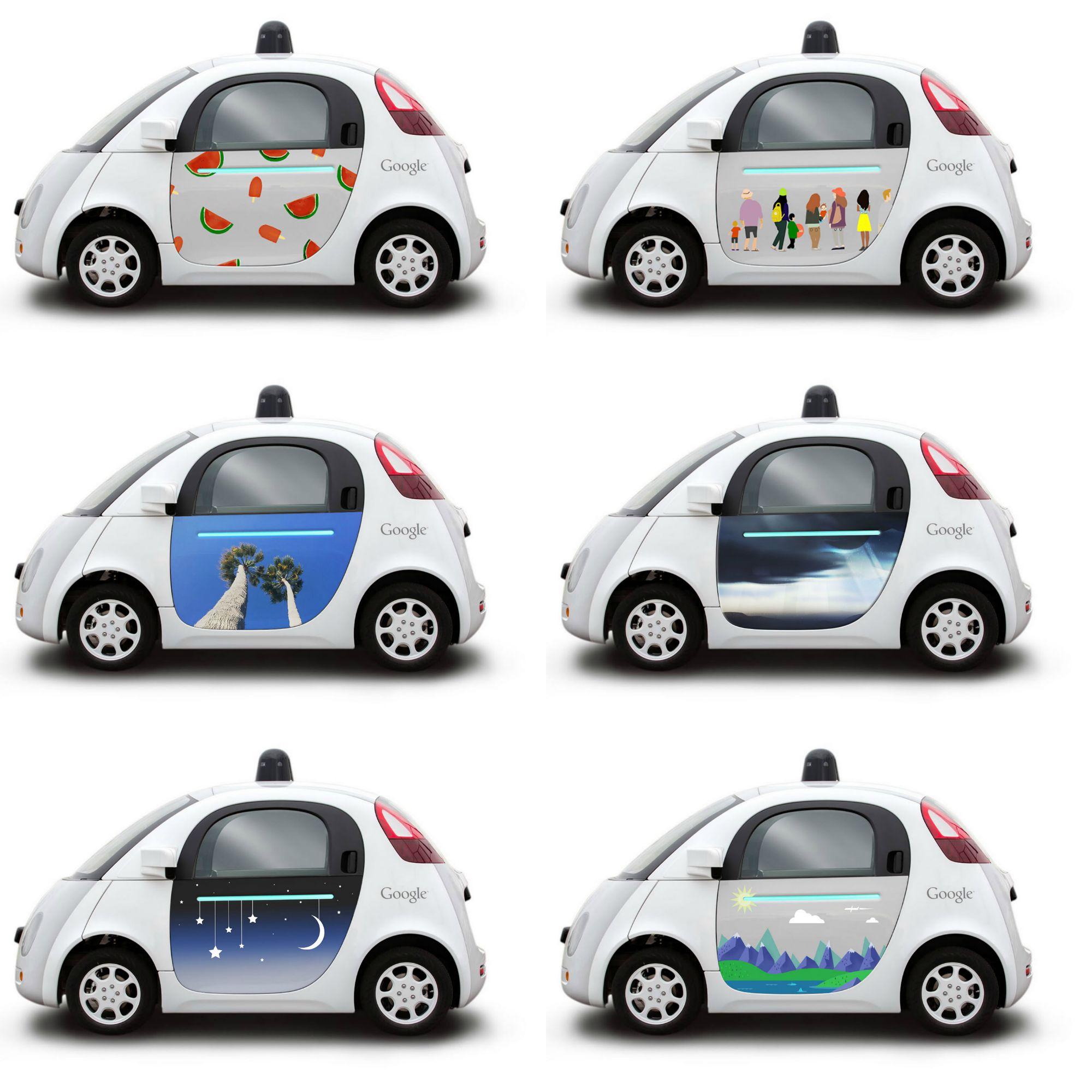 Google Car, al via il concorso per decorare le prime auto a guida autonoma
