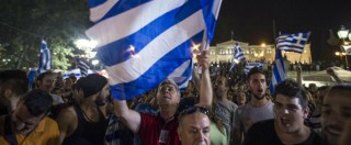 """Referendum Grecia, risultati in diretta: i """"no"""" oltre il 61%. Tsipras: """"Non è una rottura con l'Ue"""". Festa nelle piazze (FOTO)"""