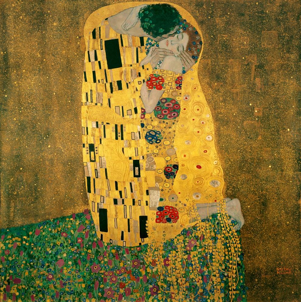 1. Il Bacio (Gustav Klimt)