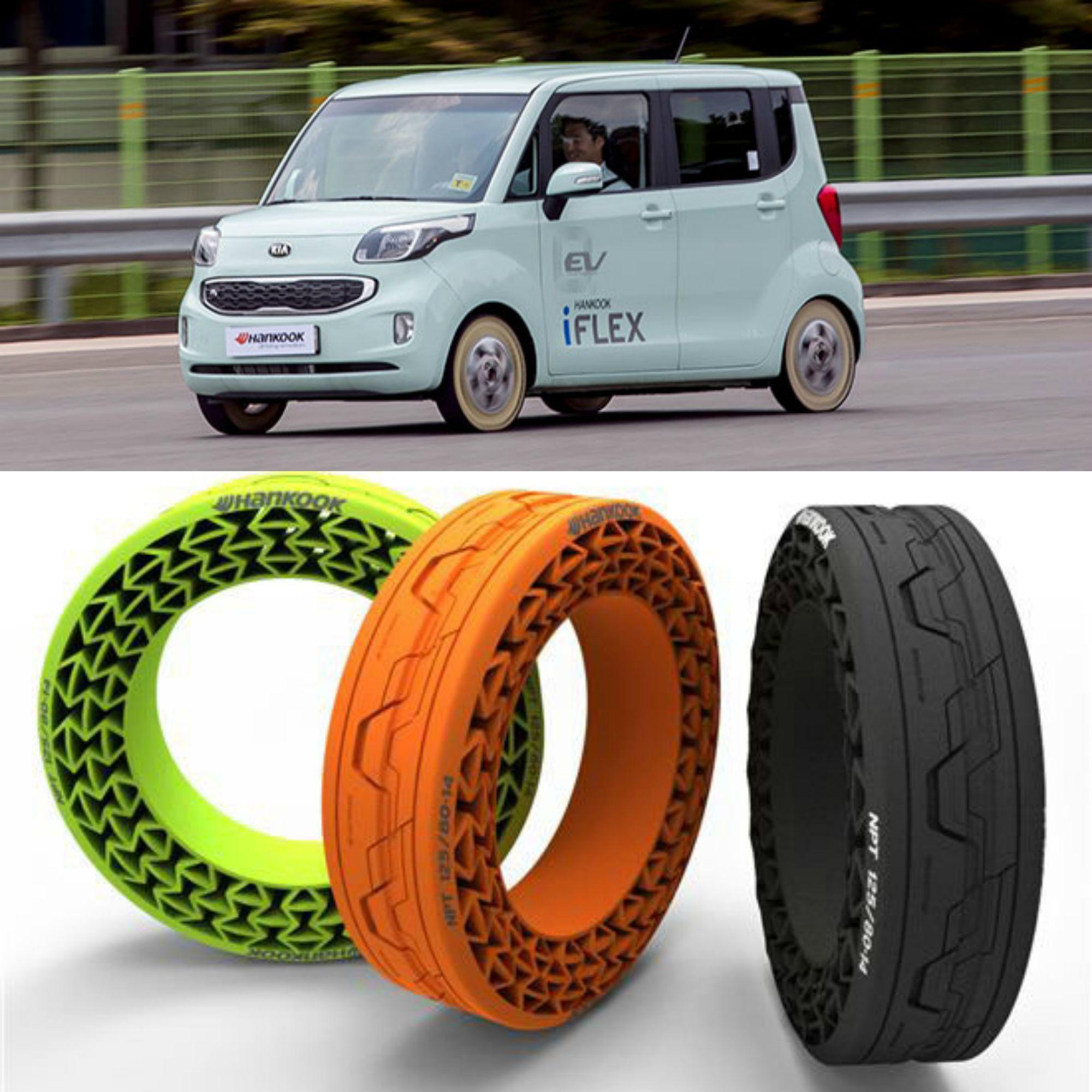 Hankook iFlex, il sogno del pneumatico auto senza aria è più vicino